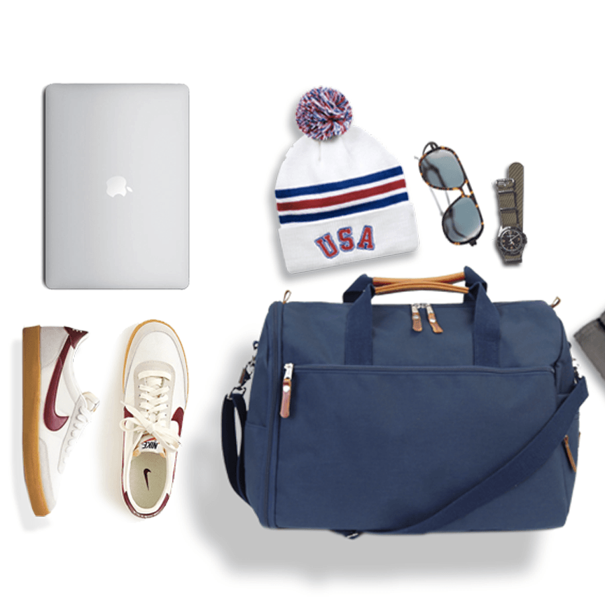 Wayfarer Commuter Duffel Bag - Navy Blue