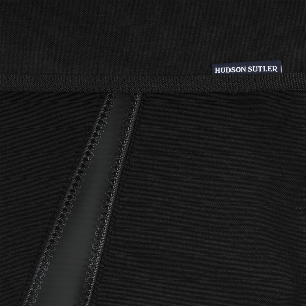 Nylon Garment Bag- Black/Black