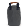 Nylon and Leather Golf Shoe Bag - Grey/Navy