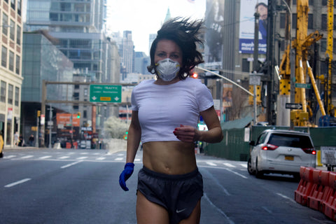 bawdy beauty Sylwia Wiesenberg running in new york