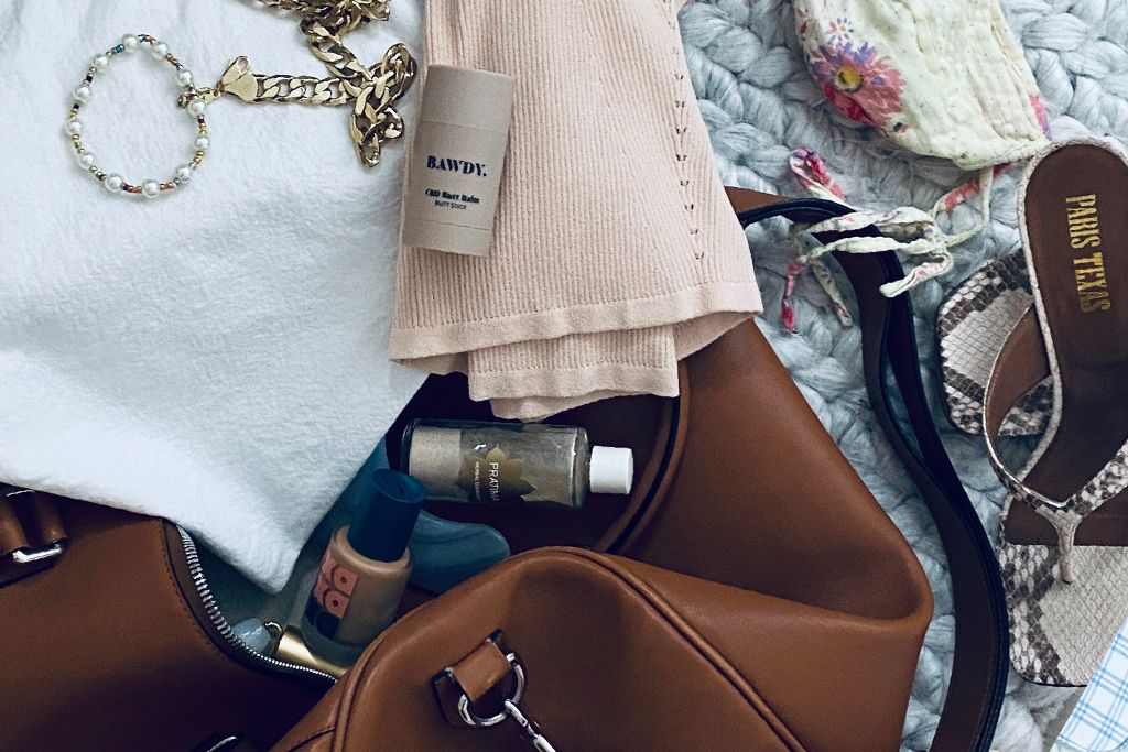 how to pack light with a carry on luggage bawdy beauty blog