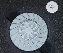 Load image into Gallery viewer, 3D Printed Wax Impeller