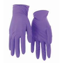 Load image into Gallery viewer, Purple Nitrile Gloves, Large, 100 Count