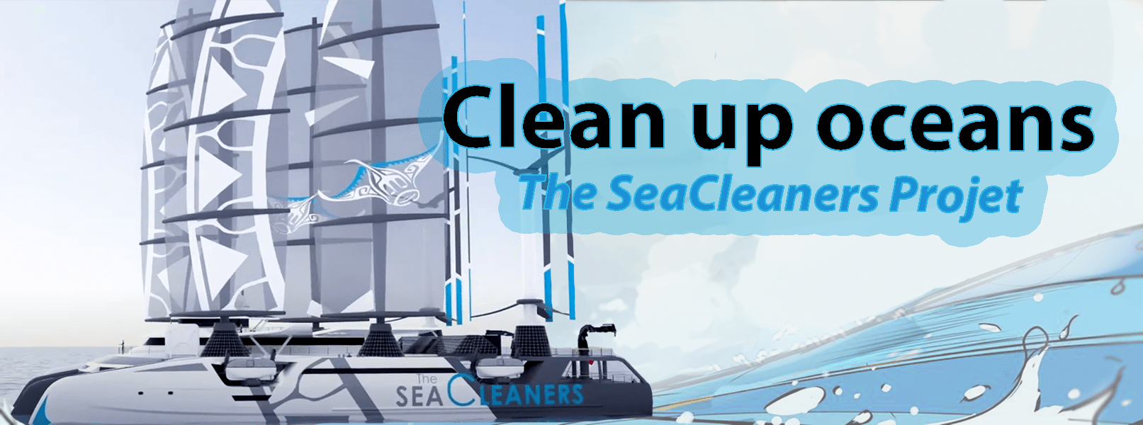 TheSea Cleaners - Clean up ocean projet