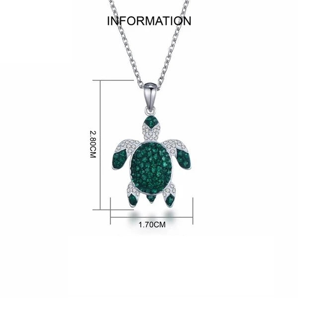 Luxury Turtle Necklace Informations size