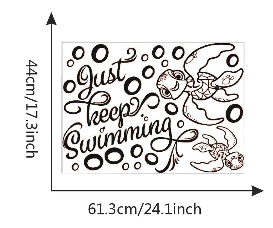 Product Size Just Keep Swimming