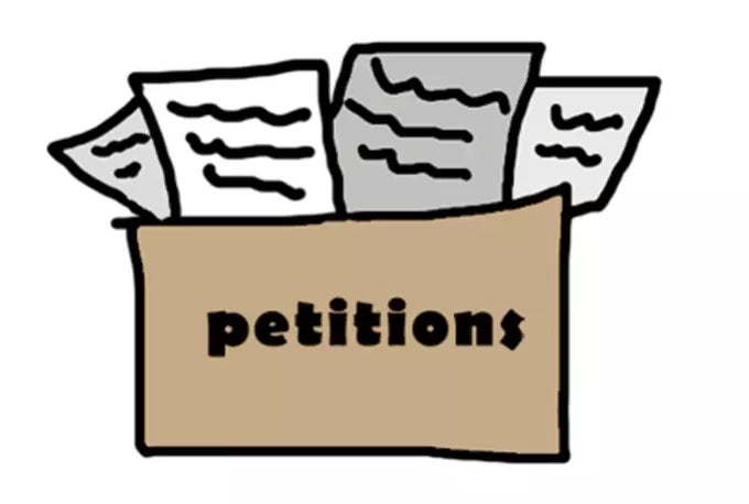 Sign the petitions