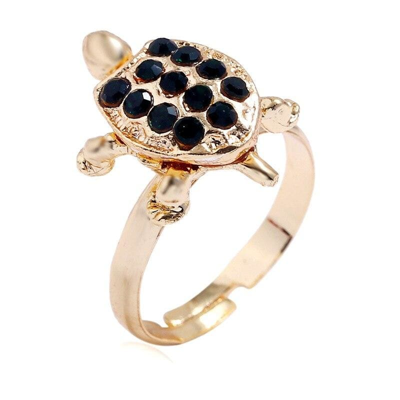 12 Pearl Turtle Ring - Turtle Store