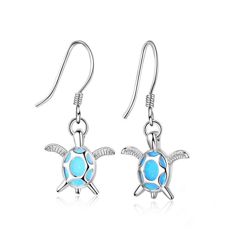 Colorful Explosif Turtle Earring - Turtle Store