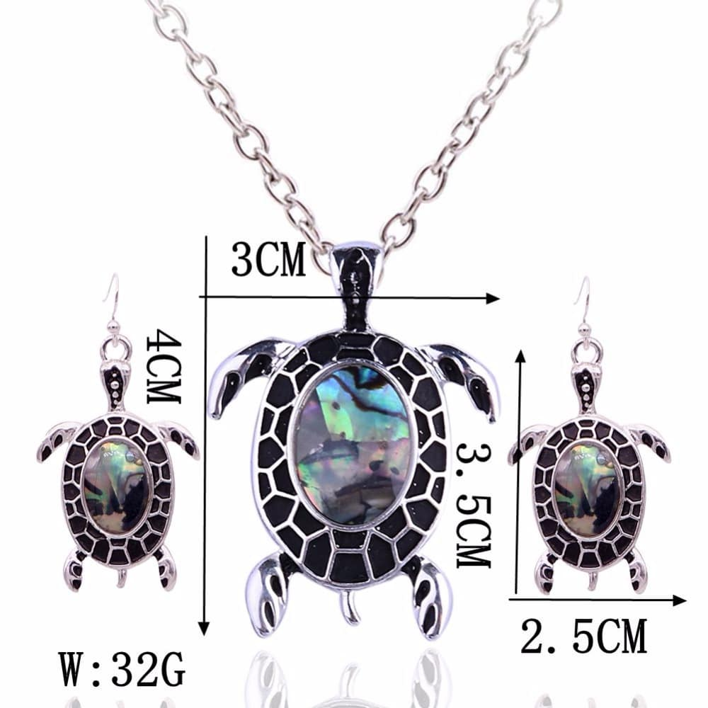 Cute Shell Turtle Necklace