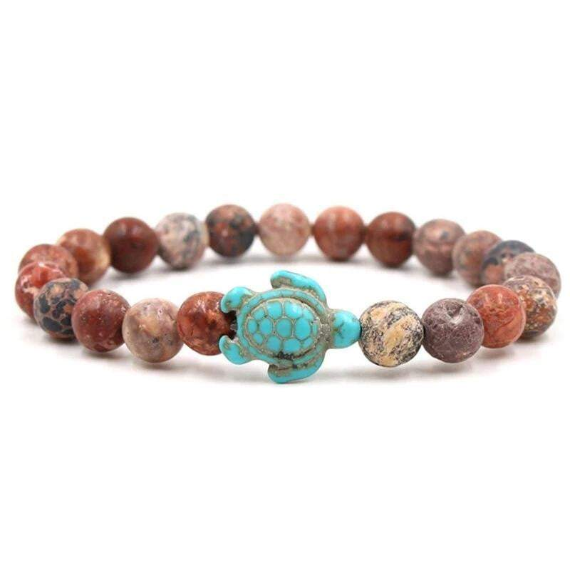 Earth Color Hawaiian Turtle Bracelet - Turtle Store