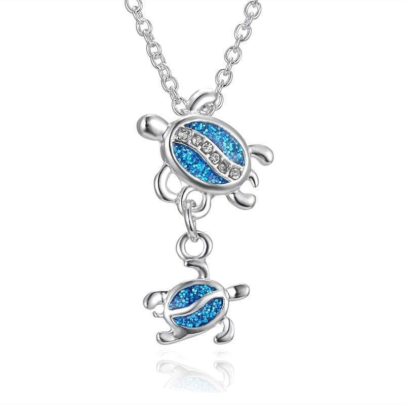 Family Turtle Necklace - Turtle Store