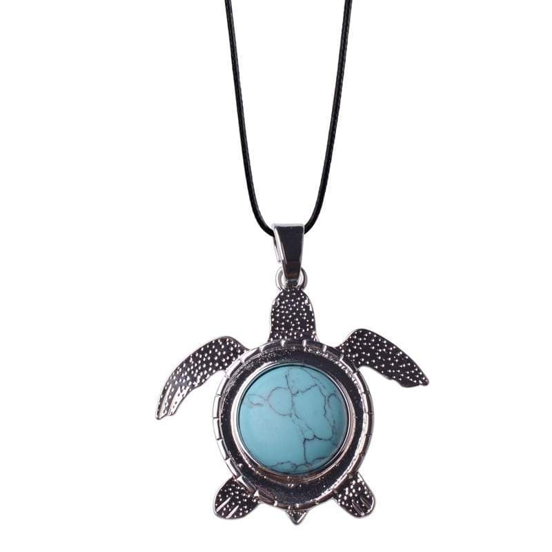 Turquoise Turtle Necklace - Turtle Store