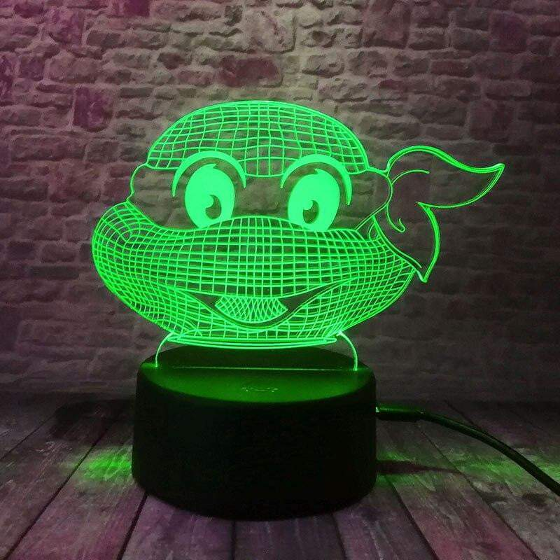 Ninja Turtle Night Light - Turtle Store