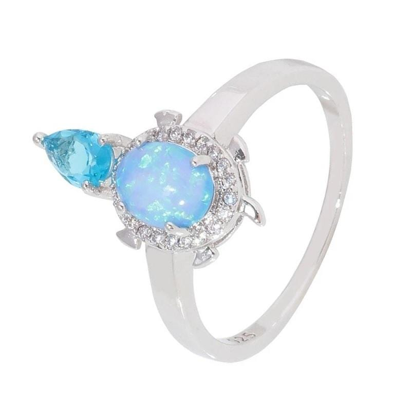 Opaline Turtle Ring - Turtle Store