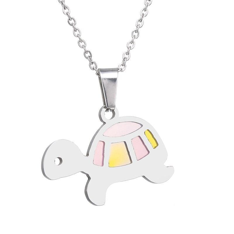 Pretty Turtle Necklace - Turtle Store