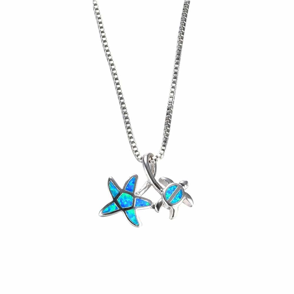 Turtle & Star Necklace - Turtle Store