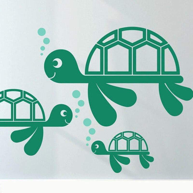 Turtle Sticker<br> Cartoon Design - Turtle Store