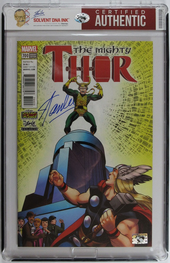 Stan Lee Autograph Comic Book | Thor #1 Russell Dauterman Variant