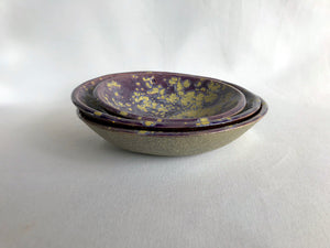 Purple Galaxy Bowls