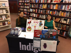 photo of Monica and Juliann at Chapters Newmarket book event