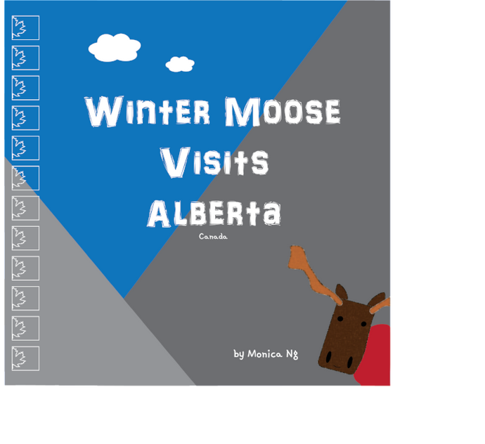 Winter Moose Visits Alberta eBook (ePUB format)