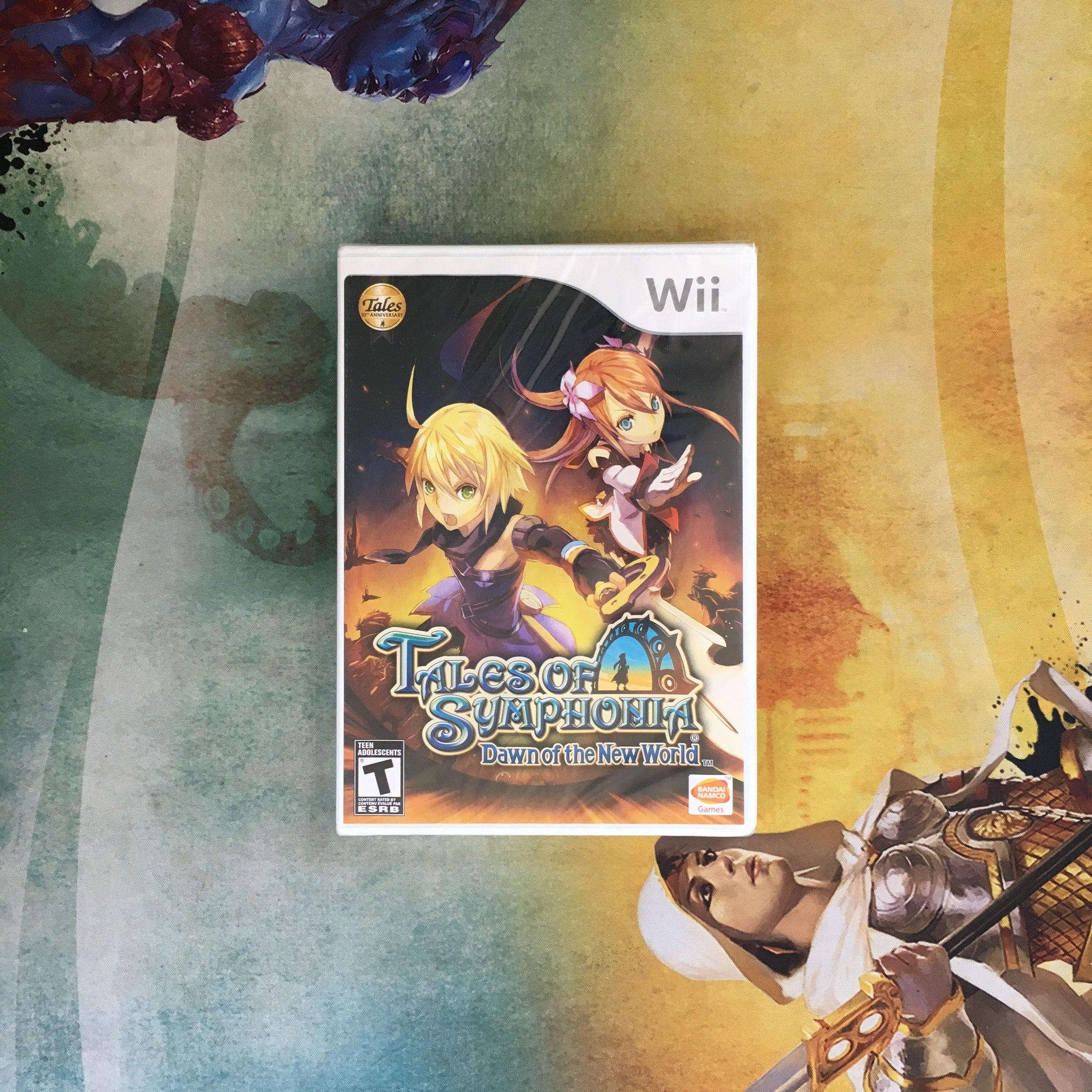 Tales Of Symphonia Dawn Of The New World Nintendo Wii