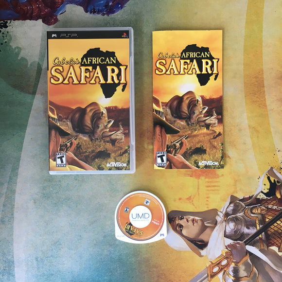 Cabela's African Safari • Sony PlayStation Portable PSP