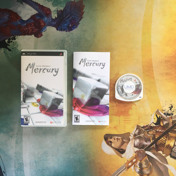 Archer Maclean's Mercury • Sony PlayStation Portable PSP