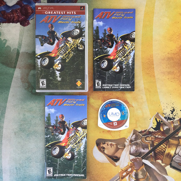 ATV Offroad Fury: Blazin' Trails • Sony PlayStation Portable PSP