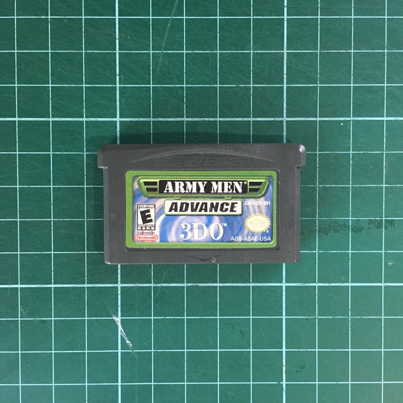 Army Men: Advance • Nintendo Game Boy Advance GBA