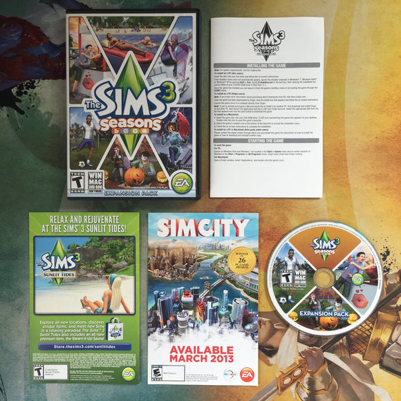 The Sims 3: Seasons Expansion Pack • PC & Mac
