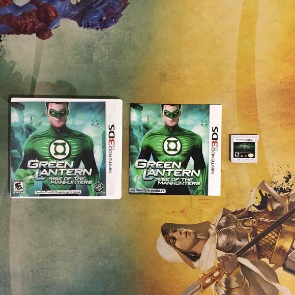 Green Lantern: Rise of the Manhunters • Nintendo 3DS