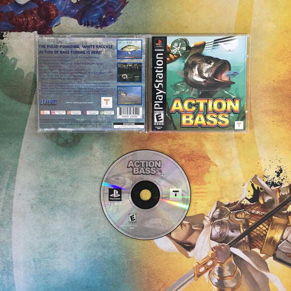 Action Bass • Sony PlayStation 1 PS1