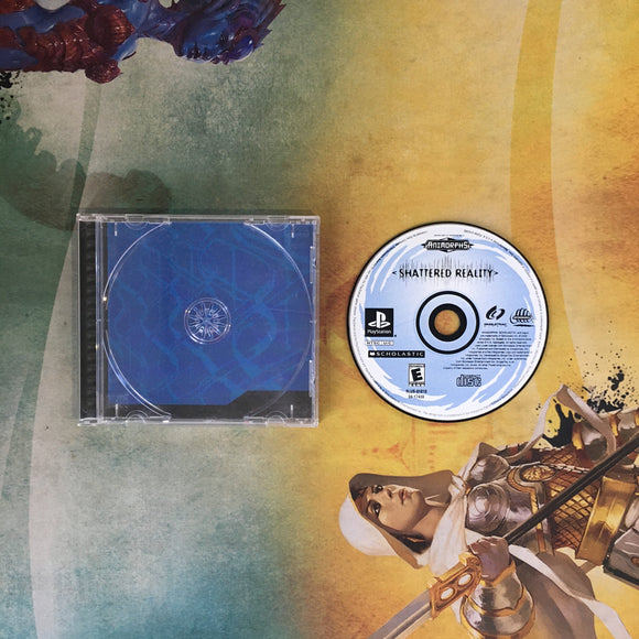 Animorphs: Shattered Reality • Sony PlayStation 1 PS1