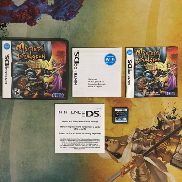 Mystery Dungeon: Shiren the Wanderer • Nintendo DS