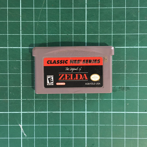 Classic NES Series The Legend of Zelda • Nintendo Game Boy Advance GBA
