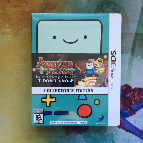 Adventure Time: Explore the Dungeon Because I DON'T KNOW Collector's Edition • Nintendo 3DS