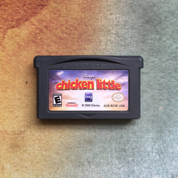 Chicken Little • Nintendo Game Boy Advance GBA