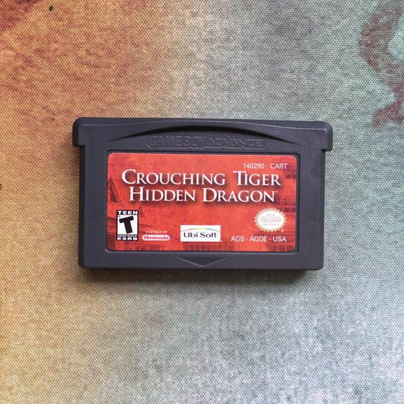 Crouching Tiger Hidden Dragon • Nintendo Game Boy Advance GBA