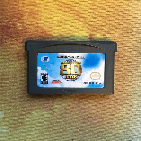Around the World in 80 Days • Nintendo Game Boy Advance GBA