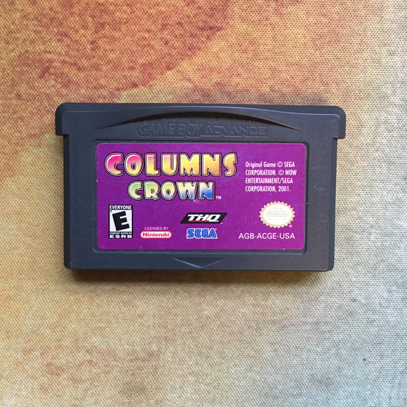 Columns Crown • Nintendo Game Boy Advance GBA