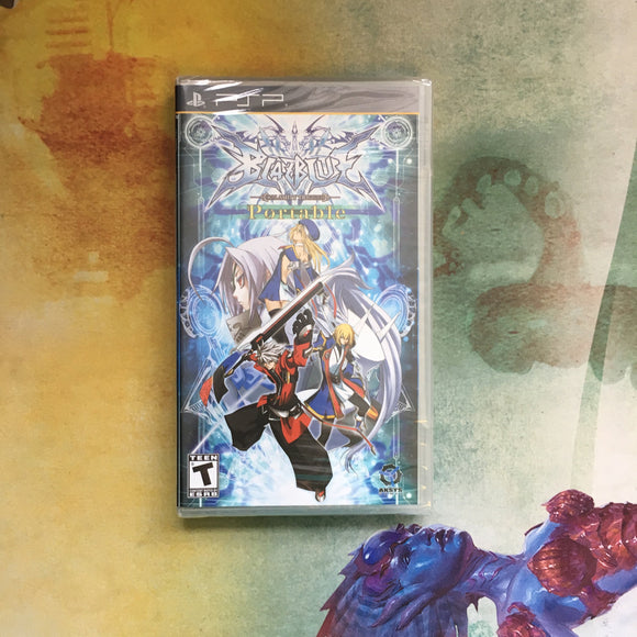 Blazblue Portable • Sony PlayStation Portable PSP