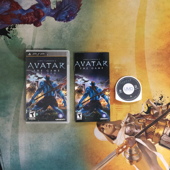 Avatar: The Game • Sony PlayStation Portable PSP
