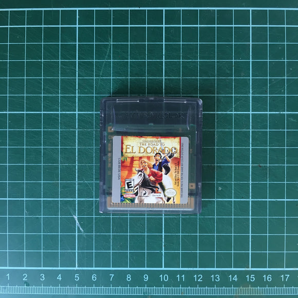 Gold and Glory: The Road to El Dorado • Nintendo Game Boy Color GBC