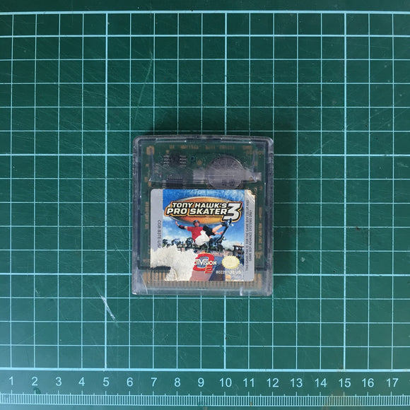 Tony Hawk's Pro Skater 3 • Nintendo Game Boy Color GBC