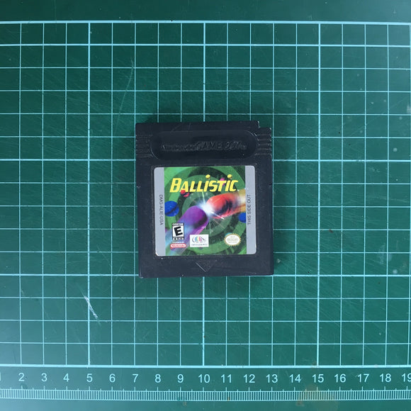 Ballistic • Nintendo Game Boy Color GBC