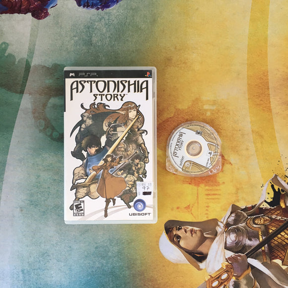 Astonishia Story • Sony PlayStation Portable PSP