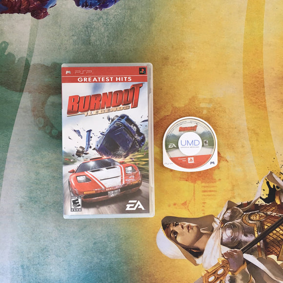 Burnout: Legends • Sony PlayStation Portable PSP