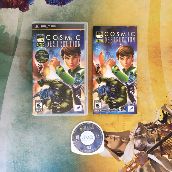 Ben10 Ultimate Alien: Cosmic Destruction • Sony PlayStation Portable PSP